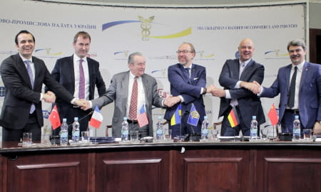 FOREIGN AND DOMESTIC BUSINESS UNITED TO IMPROVE UKRAINE'S INVESTMENT CLIMATE