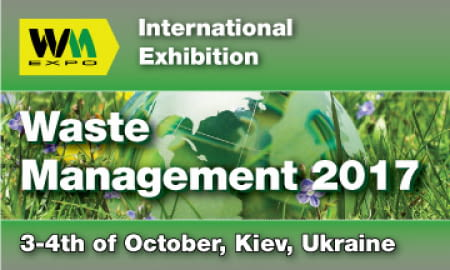 INTERNATIONAL EXHIBITION OF EQUIPMENT AND TECHNOLOGIES FOR WASTE COLLECTION AND RECYCLING «WASTE MANAGEMENT 2017»
