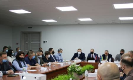 Donetsk CCI Had a Meeting with Latvian delegation